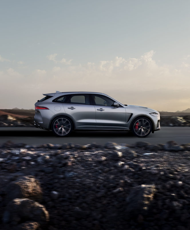 Jaguar give their F-PACE an formidable upgrade
