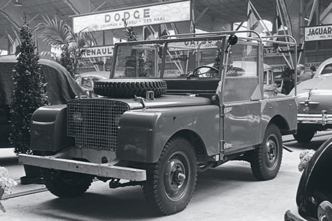 This is what the first Land Rover looked like, 70 years ago