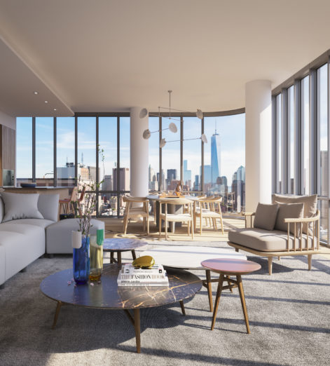 Go up in the world with this apartment in New York's historic Soho