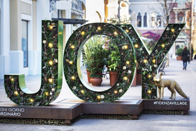 Fidenza Village will light up your Christmas