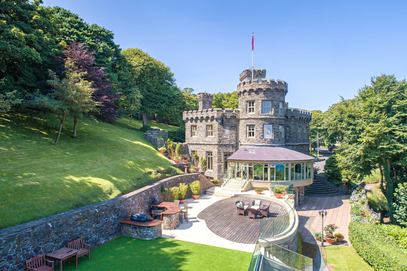 Feel like a king with the keys to this magnificent UK castle