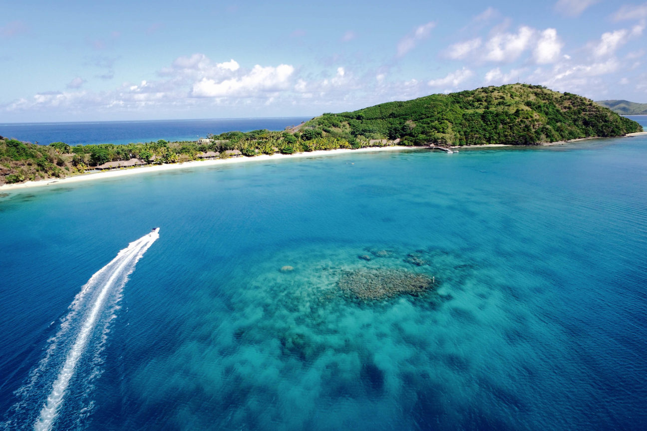 Wash ashore on Kokomo, Fiji's private island paradise