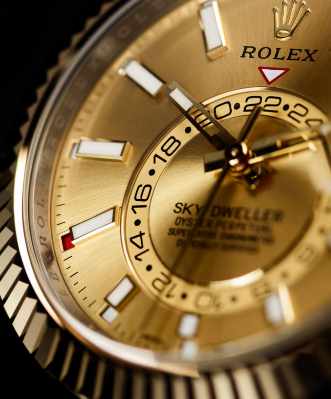 The Rolex Sky-Dweller is a watch made for adventure