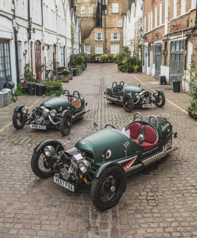 Morgan Motors prove 3 really is the magic number