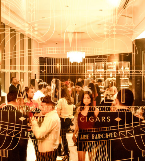 Headed to Dubai? Above 21 is your whisky and cigar lounge in the sky