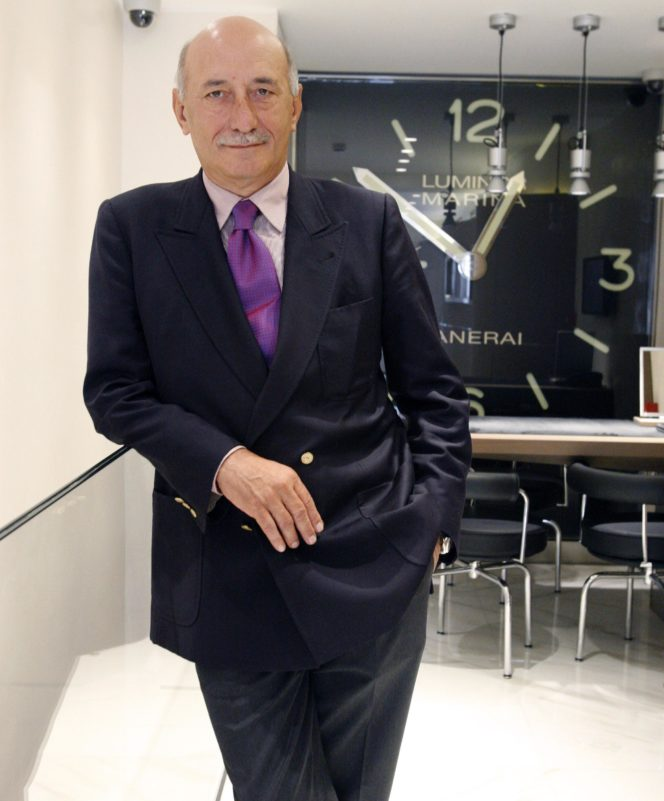 The man behind Panerai — Angelo Bonati