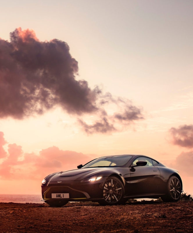 Aston Martin's new Vantage is a masterclass in sporting design