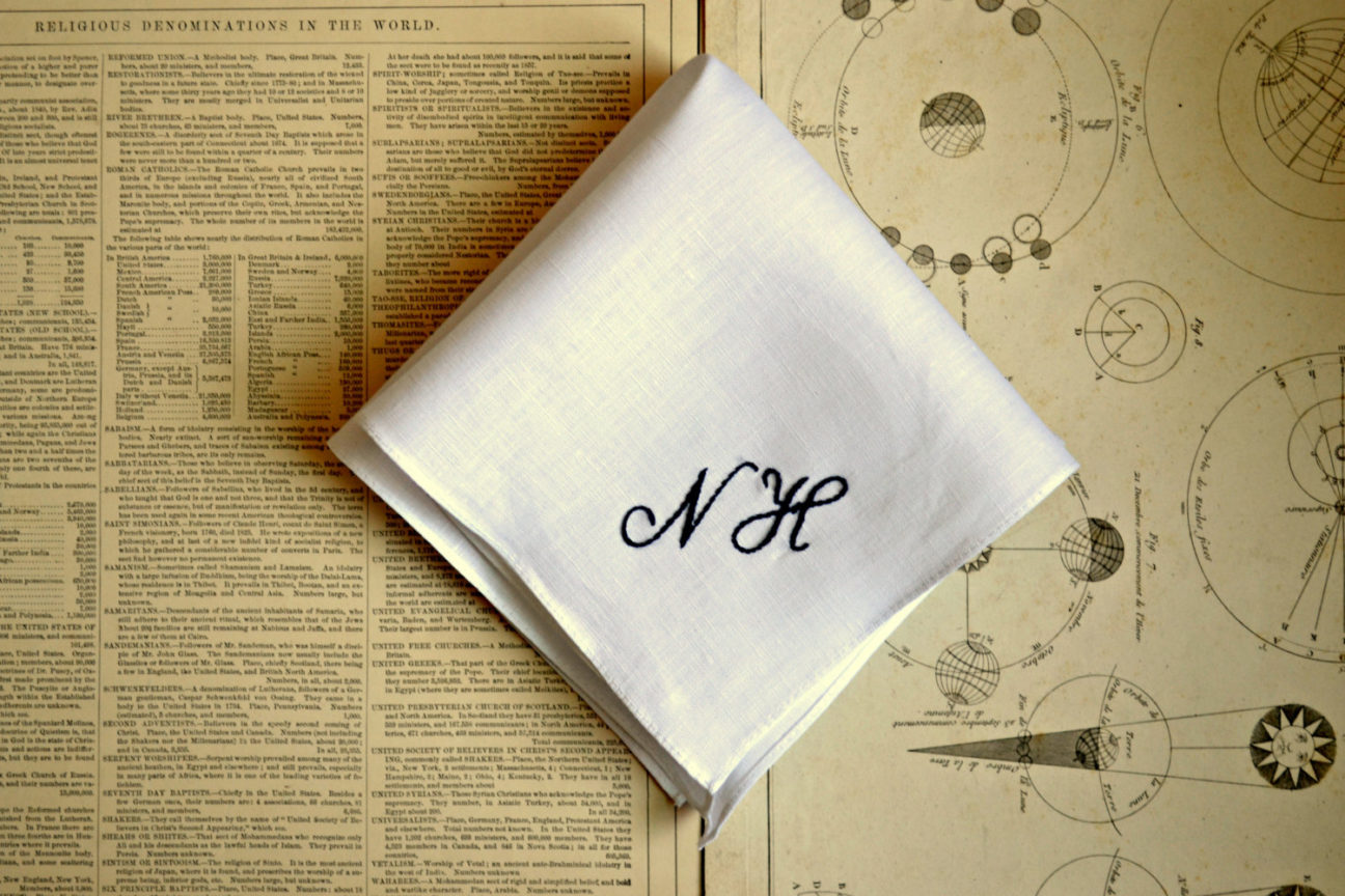 Men of letters: In defence of monogramming