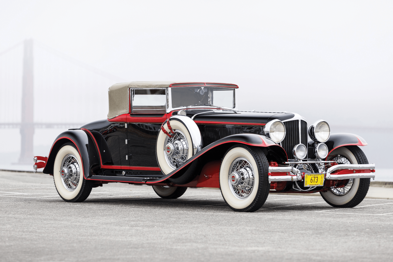 Are these the most beautiful cars of the 1930s?