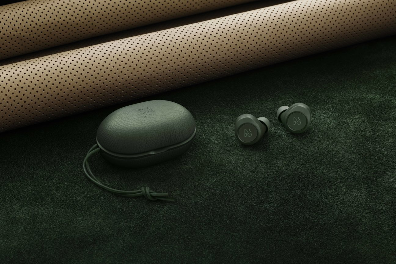 Bang & Olufsen launch their latest earphones in British Racing Green