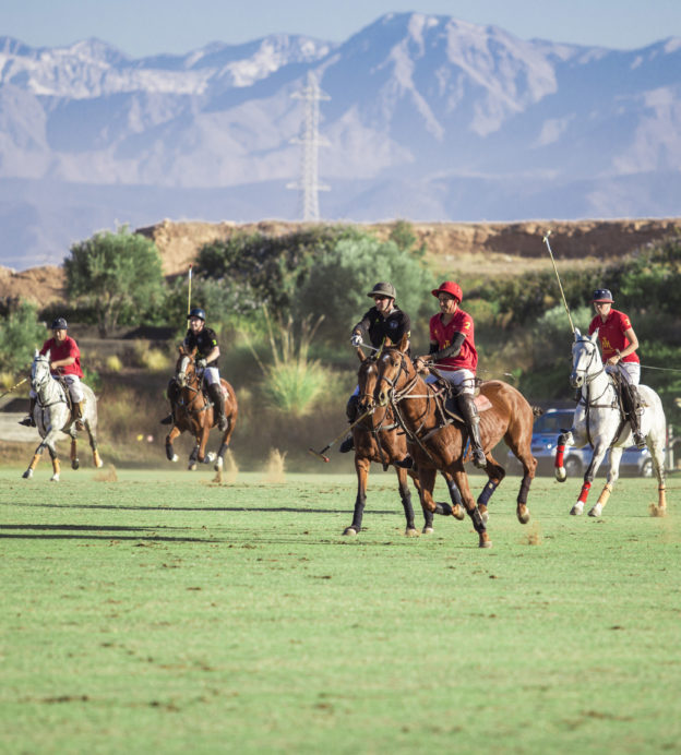 These stunning Moroccan residences are perfect for polo lovers