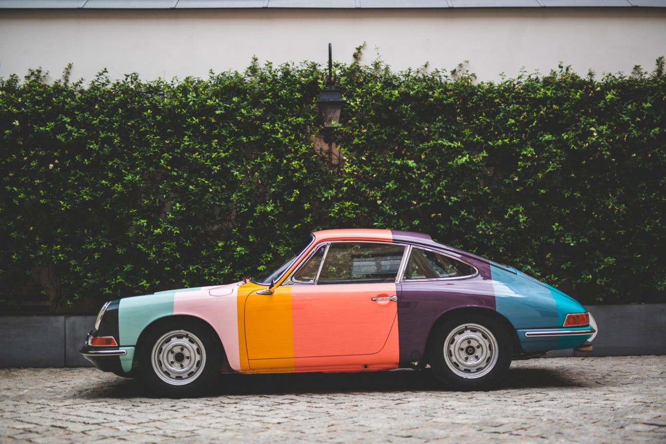 This Paul Smith Porsche will show its true colours at Goodwood this weekend