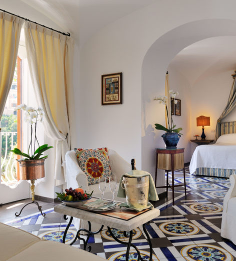 Check into these boutique hotels along the Amalfi Coast