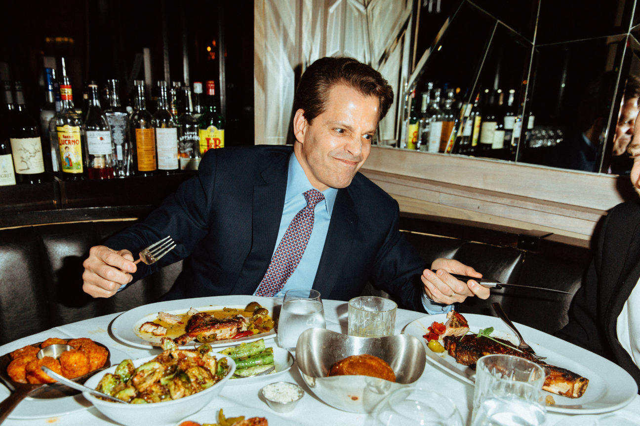 """""""Living well is the best revenge"""": Dinner with Anthony Scaramucci"""
