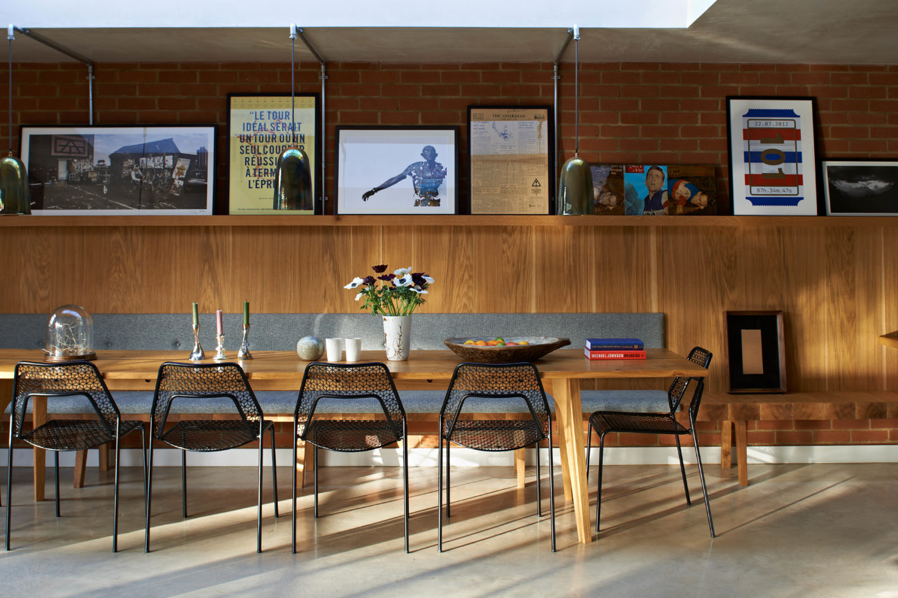 Take a spin around Rapha founder Simon Mottram's London home