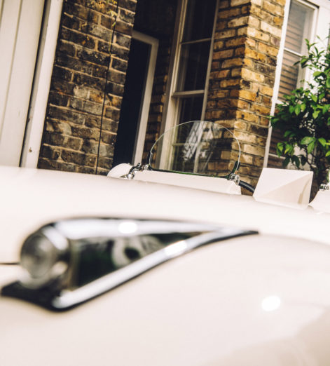We took a mint condition 1952 Jaguar to the streets of London