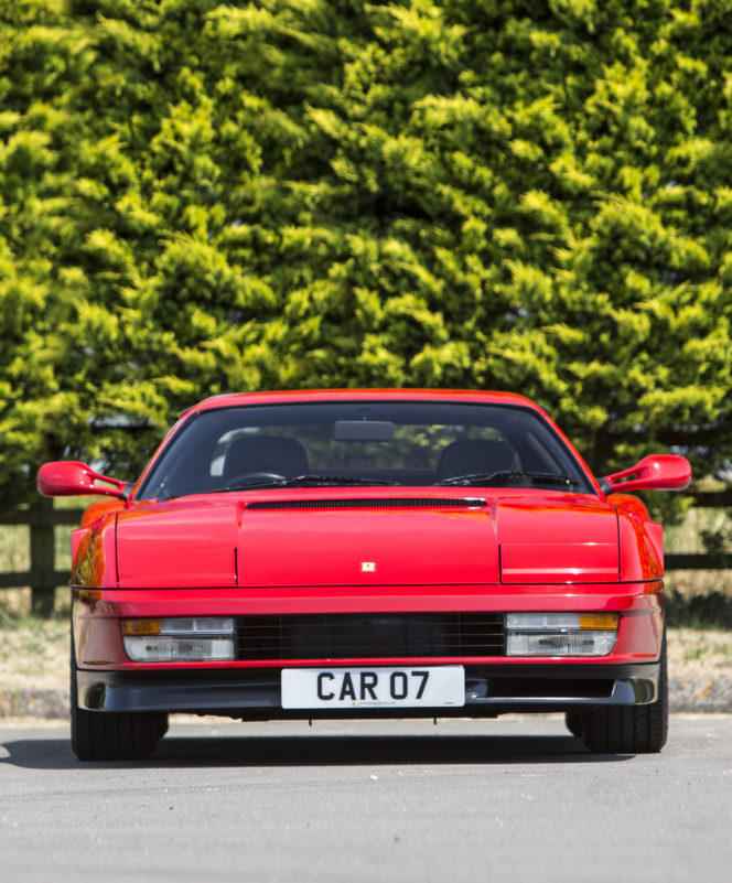 The Ferrari Testarossa is stylish, sophisticated and very, very sexy