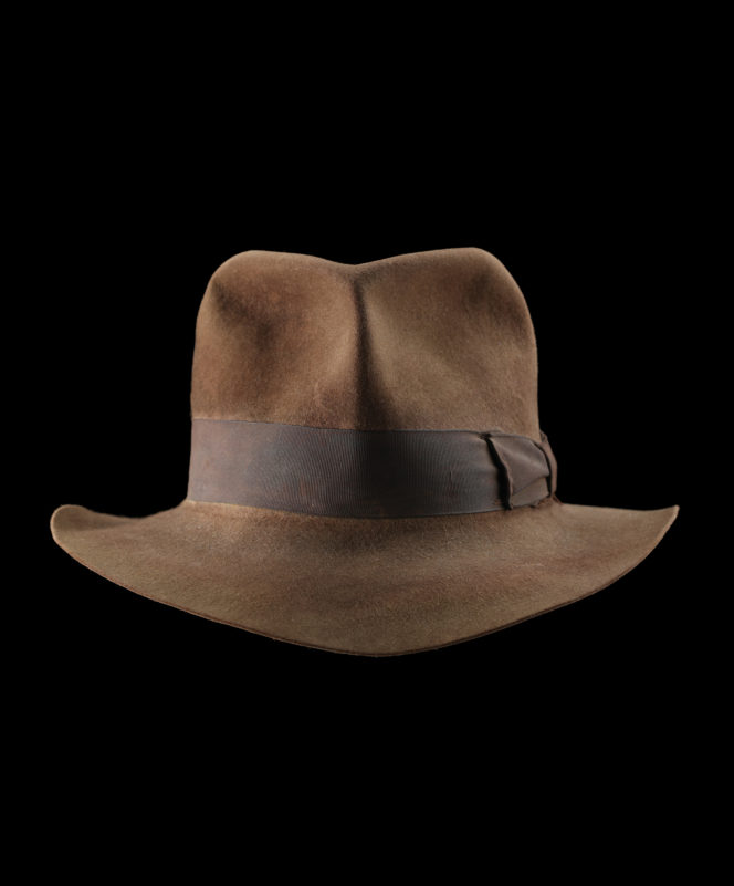 Up your action hero credentials with Indiana Jones' actual fedora — for £300,000