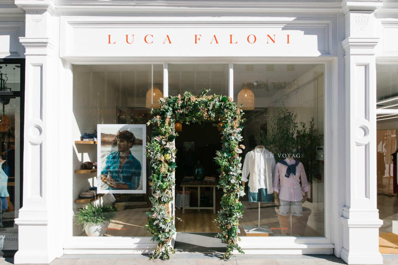 Luca Faloni bring the Italian Riviera to the King's Road with a new pop-up