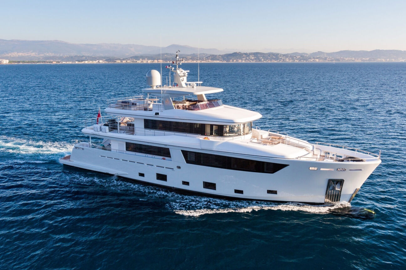 Anchors aweigh! These are the best yachts you can charter this year