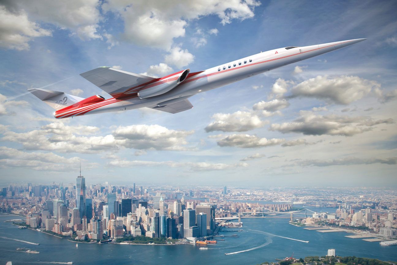 This private supersonic jet is the newest must-have for billionaires