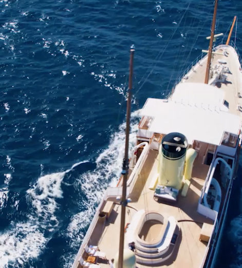 Sail back in time aboard the restored superyacht Haida 1929