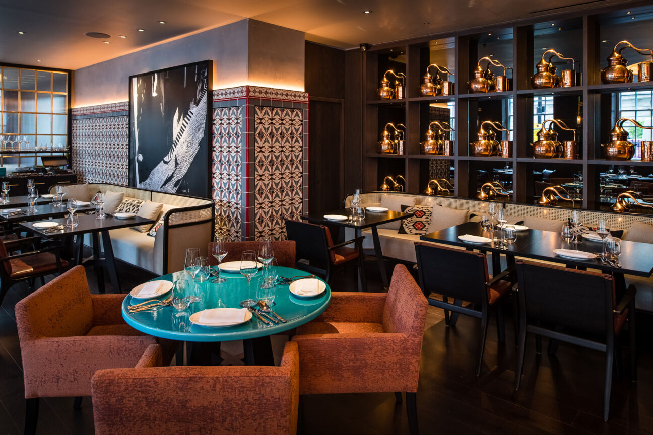 Oysters, lavender cocktails and Anatolian décor: A night at Rüya London