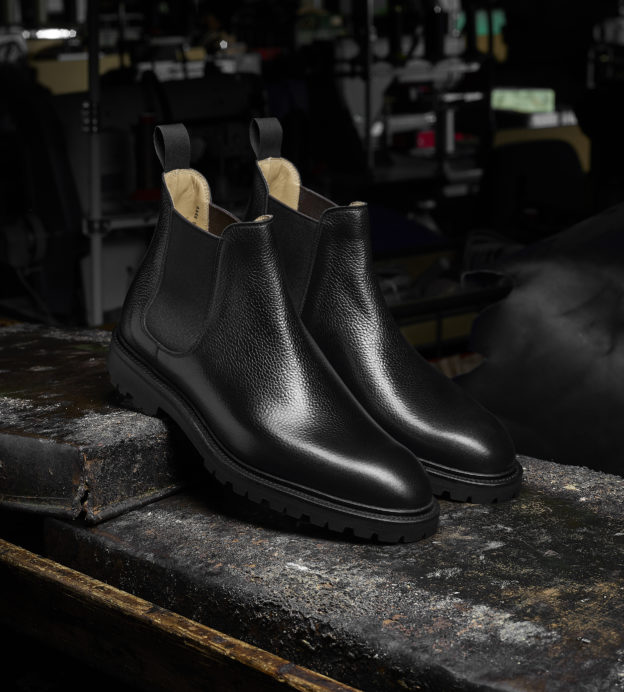Crockett & Jones go back to black this autumn