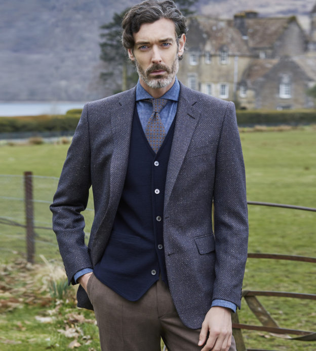 These are the style lessons we've learnt from Chester Barrie's AW18 collection