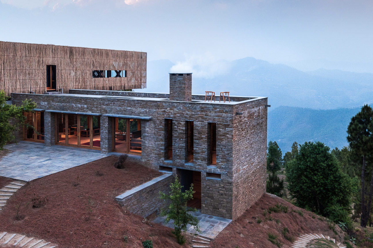 Take your relaxation to new heights at this Himalayan hideaway