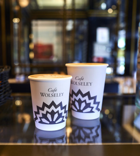 Dine in style while you shop at the Café Wolseley Bicester Village