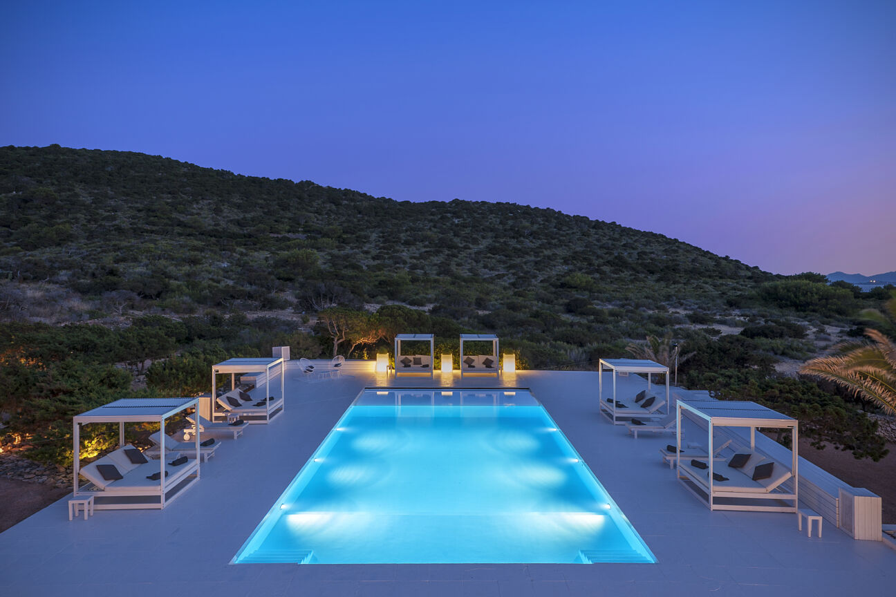With helicopters and heritage, this Ibizan island is your private paradise
