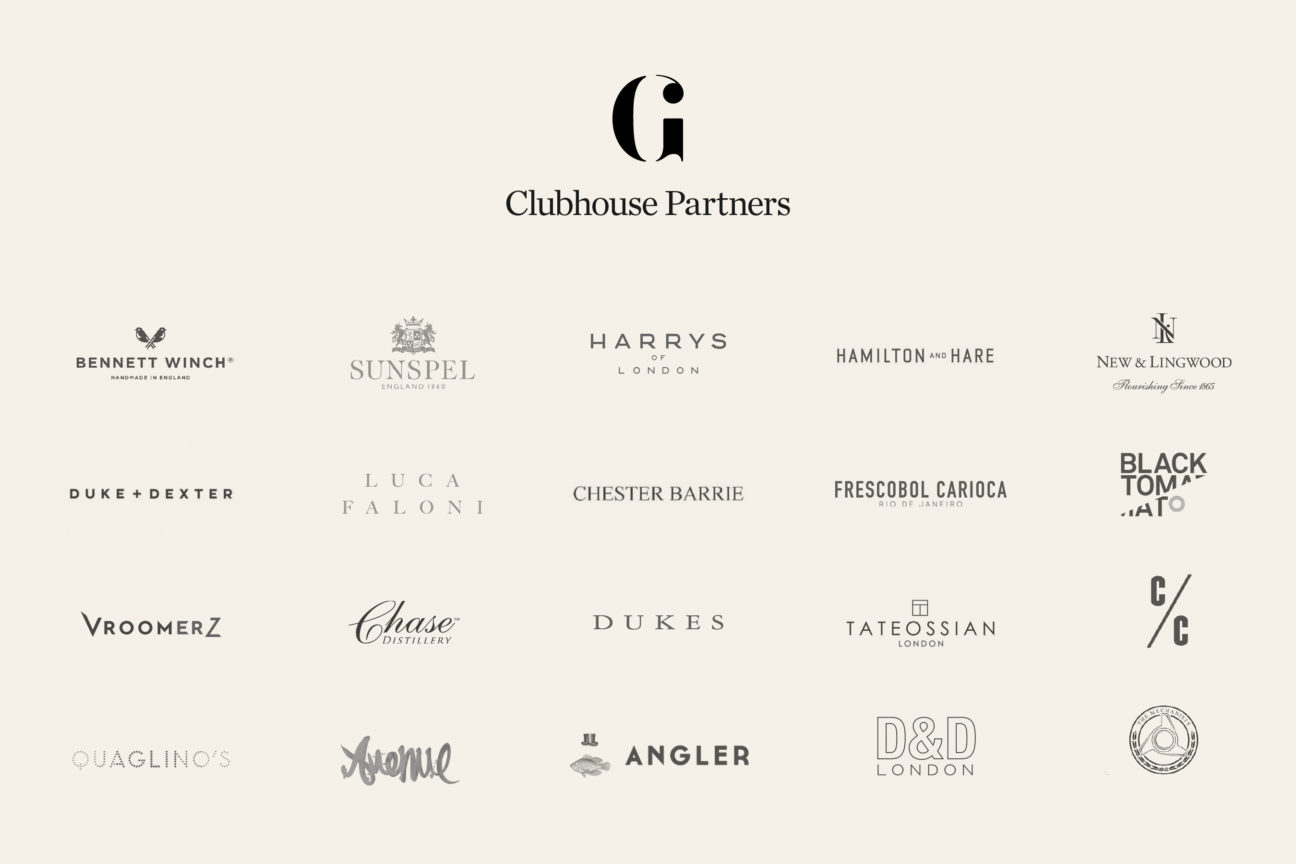 Introducing the Gentleman's Journal Clubhouse partners