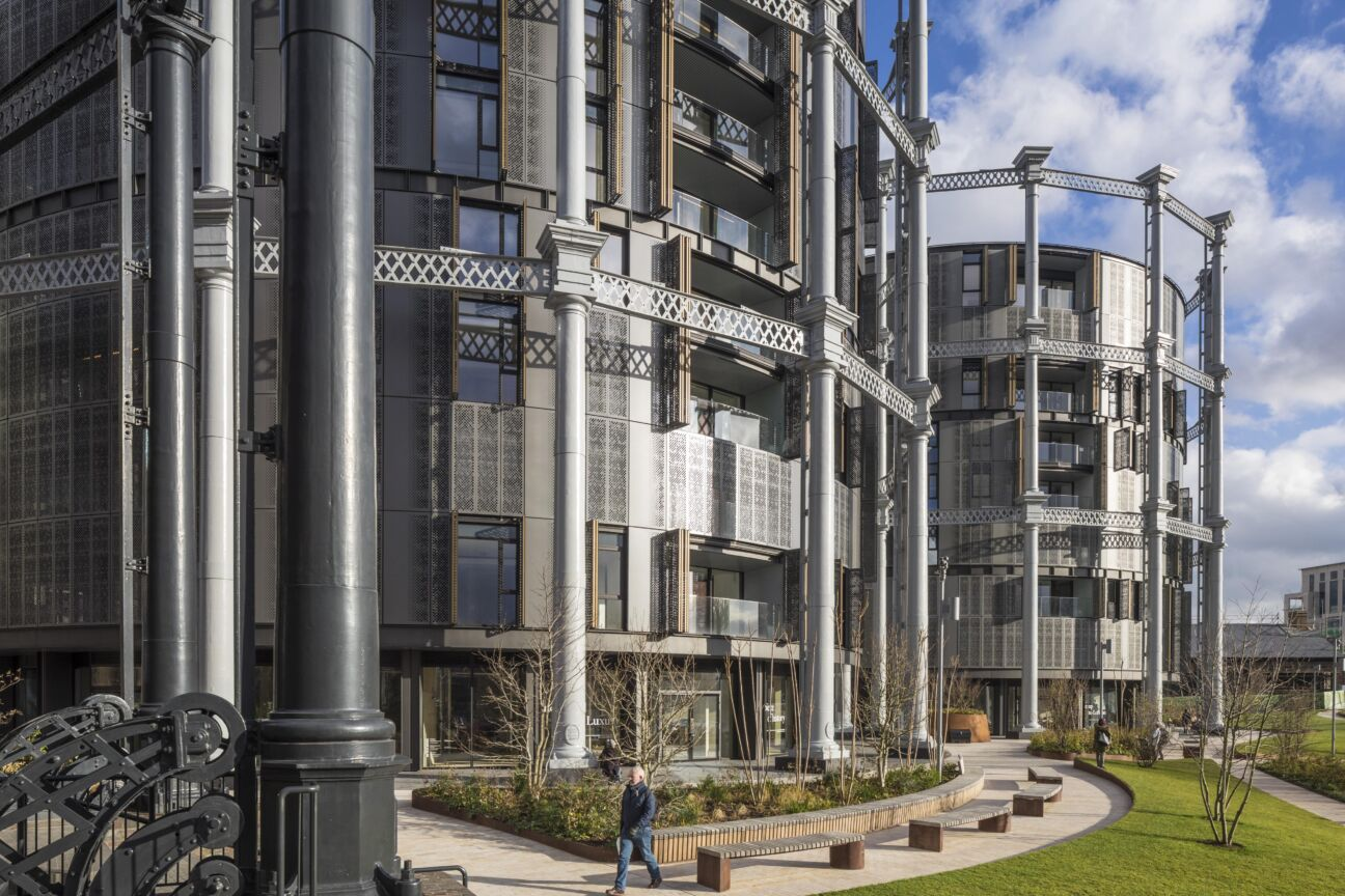 Living in the round — new luxury Gasholders apartments