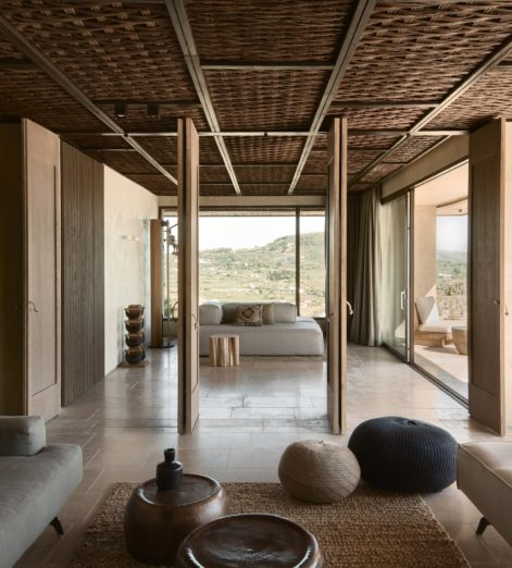 Take an Odyssey to this stunning, all-suite Greek hotel