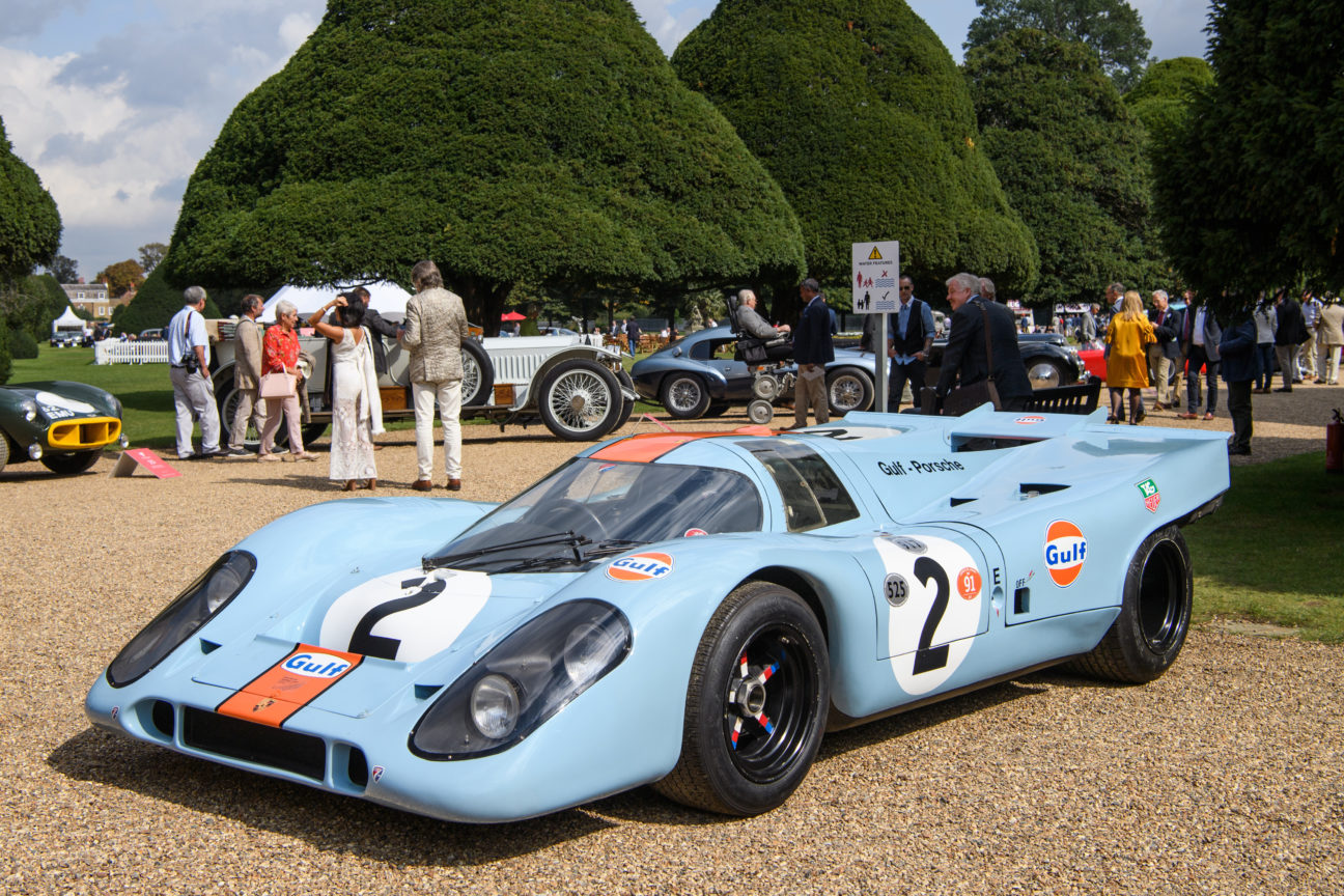 Here's the Porsche 917K Steve McQueen drove in 1971 film 'Le Mans'