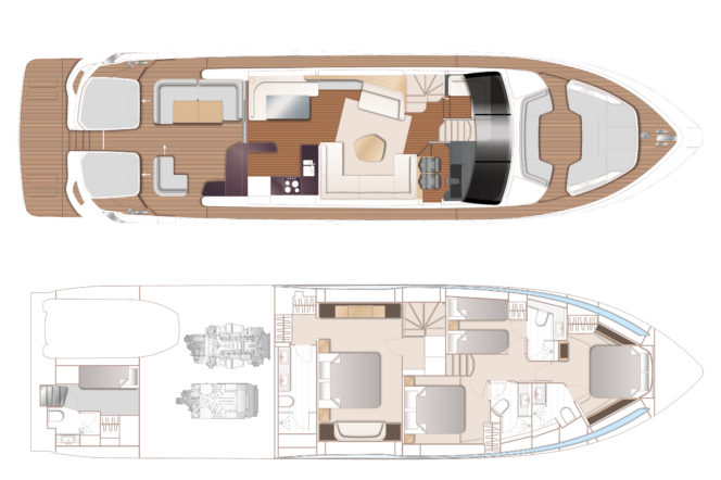 Bow down to the new sports yacht from Princess — the V78