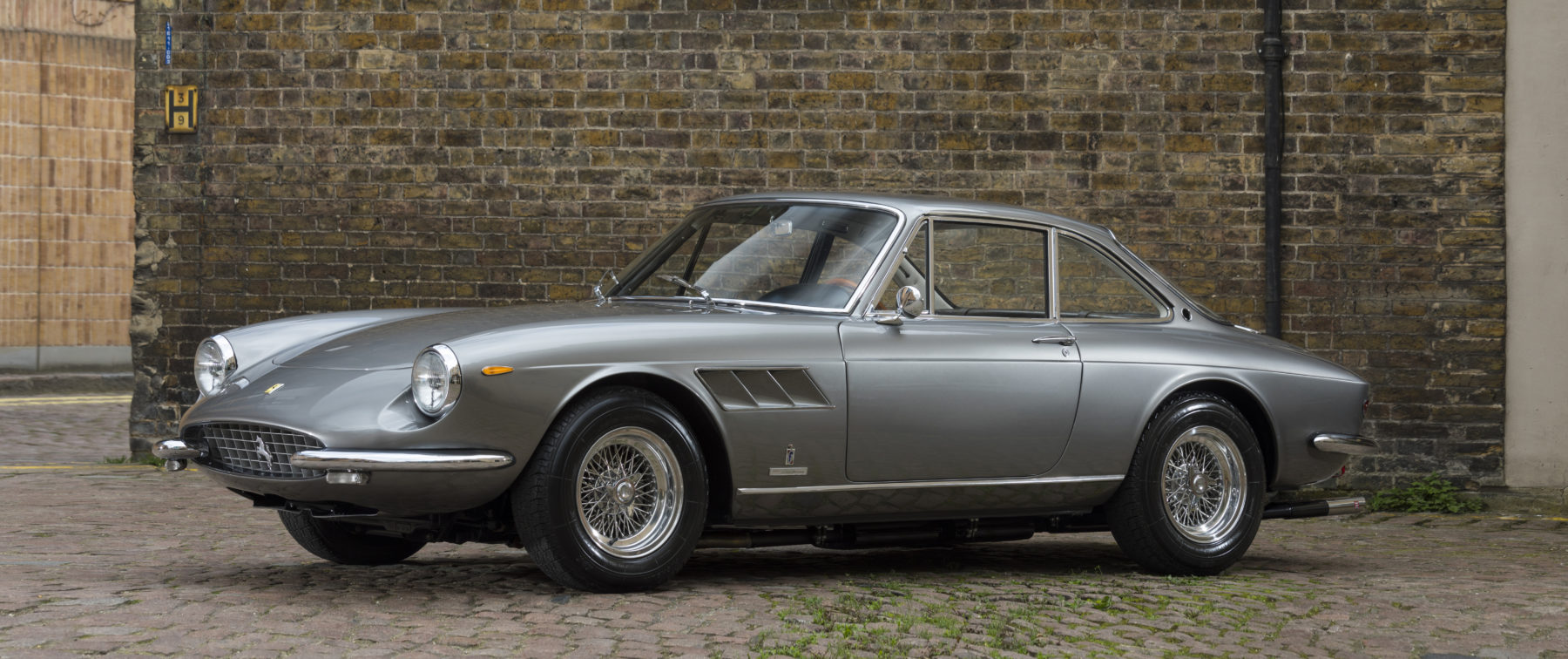 This Newly Restored Ferrari Brings Vintage Styling Into The 21st Century
