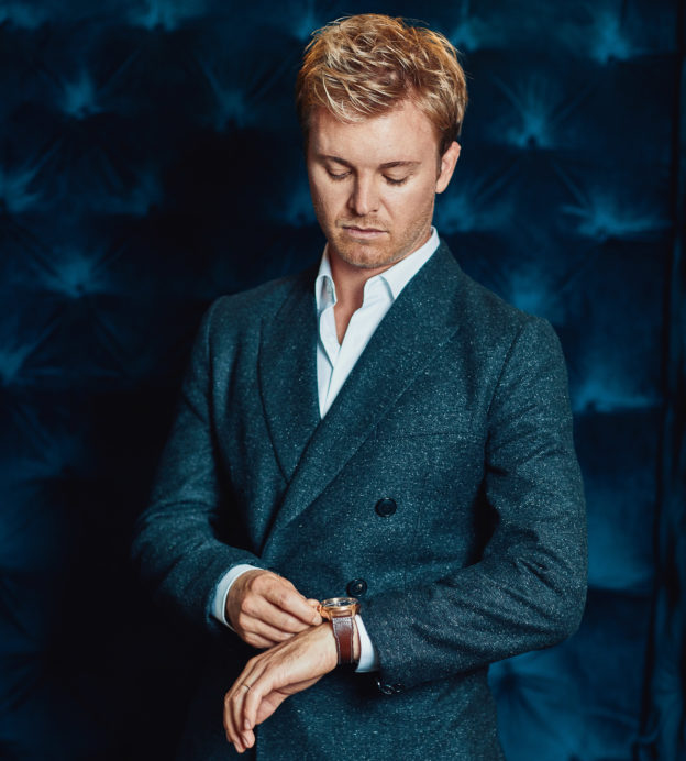 Nico Rosberg's life is yet to slow down