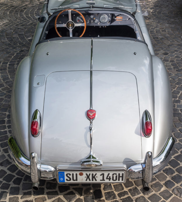 This 1956 Jaguar Roadster will give you a taste of 'La Dolce Vita'