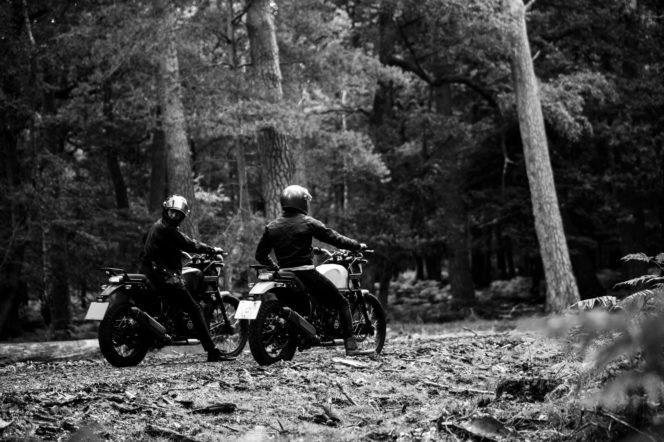 Gentleman's Journal took Royal Enfield's Himalayan to the New Forest