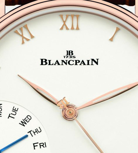 Watch of the week: Blancpain Villeret Grande Date Jour Retrograde