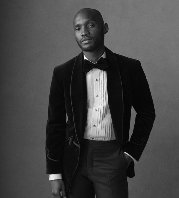 Step up your black tie game with these avant-garde dress shirts