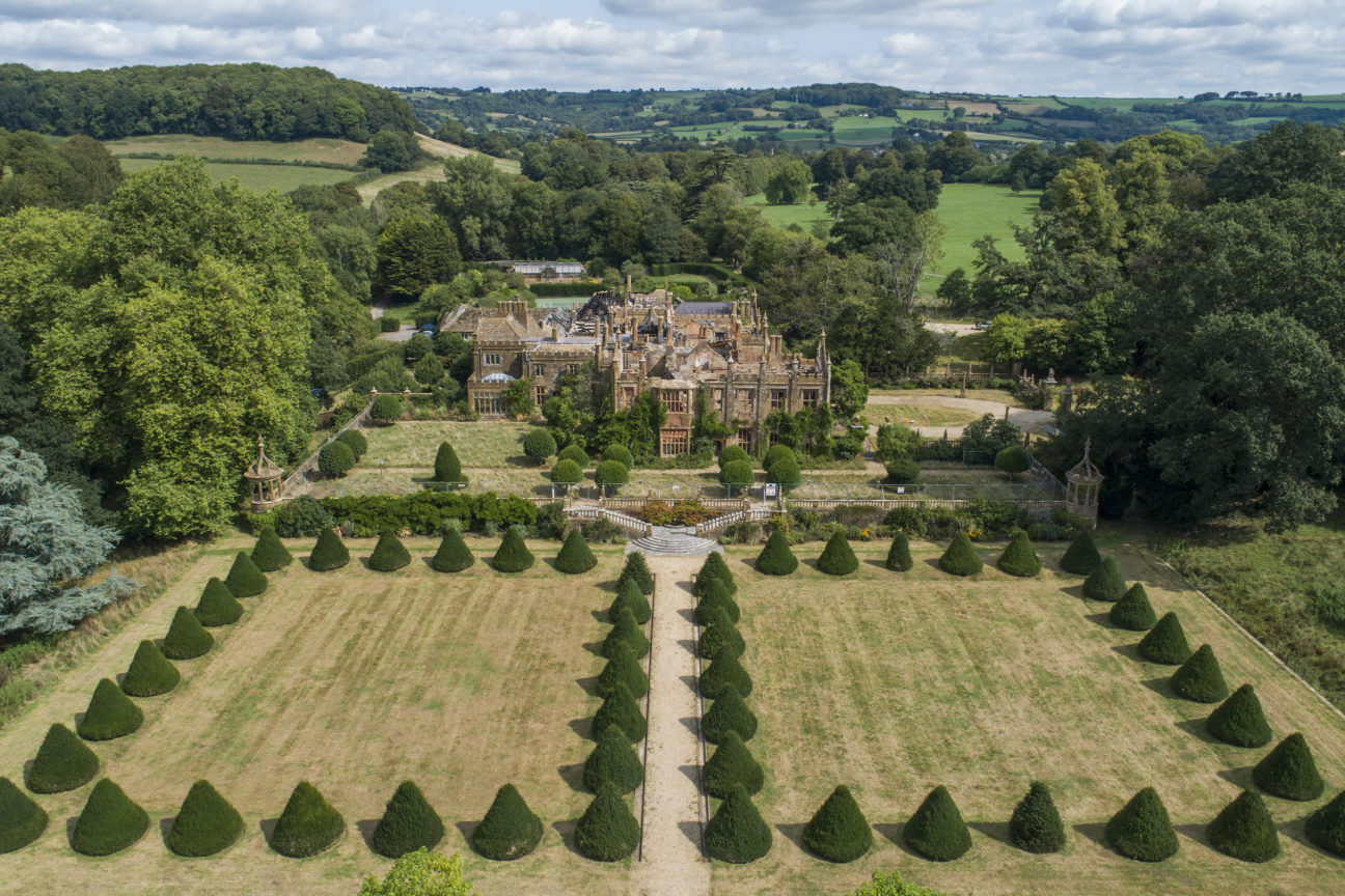 This Dorset stately home is the ultimate restoration project