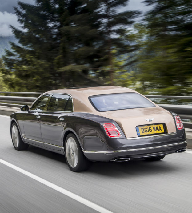 The Bentley Mulsanne is a masterclass in understated style