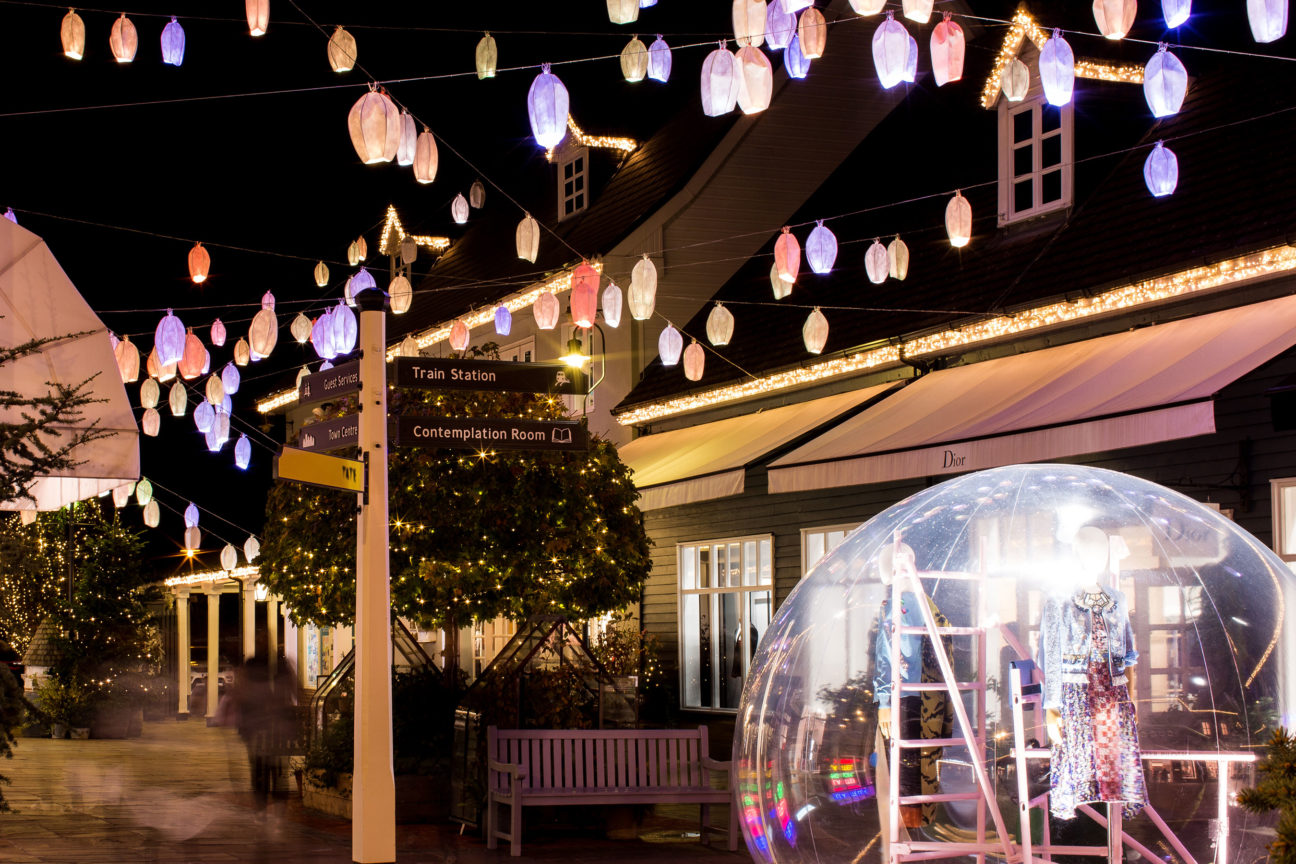 Christmas shopping season starts now at Bicester Village