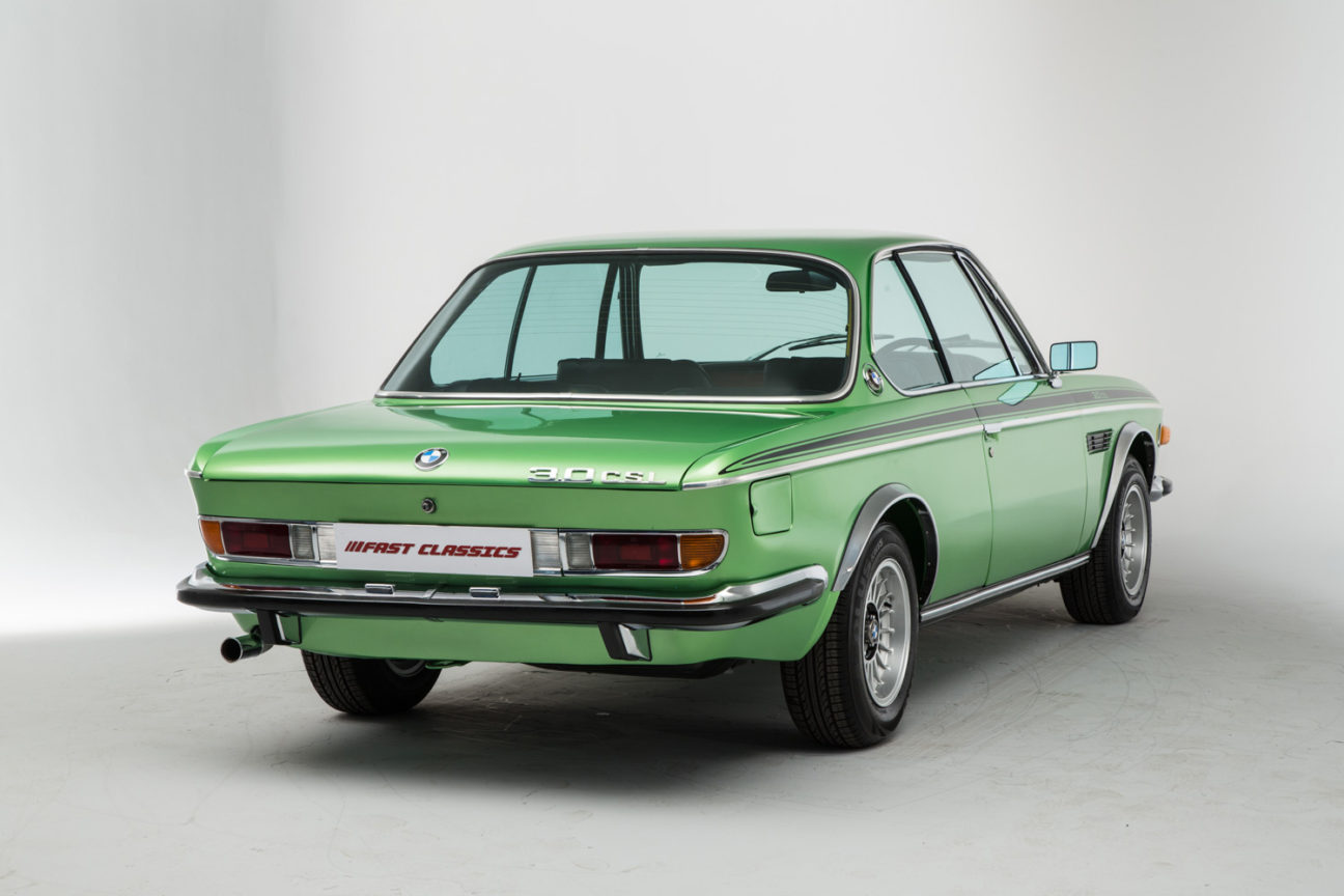 This handsome 1972 BMW coupe will make you green with envy