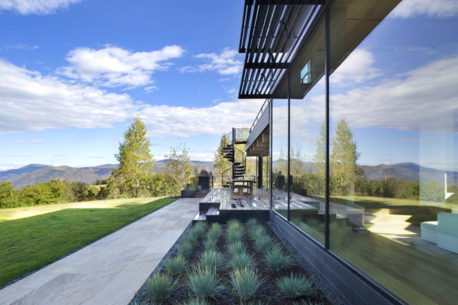 Incredible views over the Rocky Mountains is just one of this property's best features