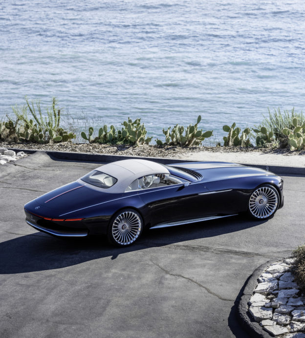 This incredible Mercedes Maybach is a speedster fit for a supervillain
