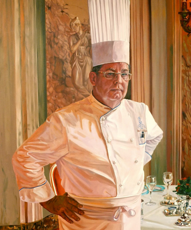We ask Ritz Executive Chef John Williams how he's cooked up a legacy